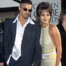 Shemar Moore and Halle Berry At The 54th Annual Golden Globe Awards (1997)