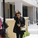 Jenna Dewan – Wearing all black outfit shopping in Los Angeles