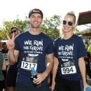 Olivia Jordan and Jay Hector- The Grove Hosts its Annual We Run The Grove Race to Erase MS
