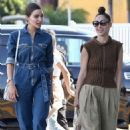Olivia Culpo- Leaves Melrose Psychic in Los Angeles 04/06/2019
