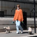 Nicola Roberts – Steps out for a walk in London - 454 x 382
