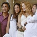 "Rachelle Lefevre - On The Set Of ""Barney's Version"" In Rome, 2009-08-20"