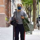 Naomi Watts – Seen wearing New Balance sneakers during an outing in Tribeca – New York