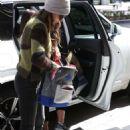 Jordana Brewster in Jeans – Shopping in Beverly Hills - 454 x 681