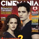 Kristen Stewart, Robert Pattinson - Cinemanía Magazine Cover [Mexico] (November 2012)