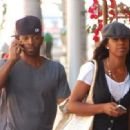 Kelly Rowland and Tim Weatherspoon - 454 x 332