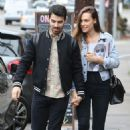 Joe Jonas and Blanda Eggenschwiler walk hand in hand after doing some book shopping at the Daily Planet Book Store in Los Feliz, California on November 20, 2013 - 454 x 690