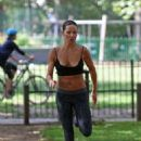 Sophie Anderton Workout In London