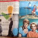 Sharon Hugueny, Connie Stevens - Cine Magazine Pictorial [France] (May 1961) - 454 x 313