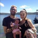 Bert and Alison McCracken with their baby girl