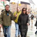Catherine Zeta-Jones - Films On The Set Of Her New Movie