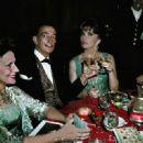 Gina Lollobrigida and Salvador Dali