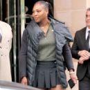 Serena Williams – Leaves her hotel in Paris