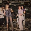 Keith Moon and Annette Walter-lax at La Val Bonne Club in London, England on March 17, 1978