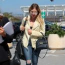 Ashley Benson – Leaves the Cannes Film Festival in France