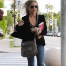 'Buffy' actress Sarah Michelle Gellar out and about in Los Angeles, California on March 29, 2013
