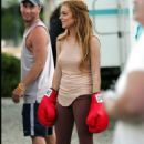 Lindsay Lohan Ready To Fight! On The Set Of Georgia Rule July 21 2006