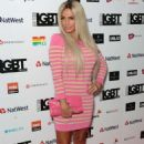 Katie Price – British LGBT Awards 2017 in London - 454 x 722