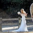 Brandi Glanville gives new meaning to the term 'blushing bride' as a series of  mishaps mar her bridal shoot - 454 x 253