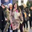 Victoria Justice – filming set in NYC