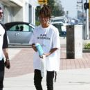 Jaden Smith is spotted shopping on Melrose in Los Angeles, California with a friend on October 14, 2016 - 447 x 600