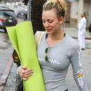 Kaley Cuoco and Karl Cook are seen out and about after a yoga class on January 23, 2017 - 400 x 600