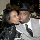 P. Diddy and Kim Porter