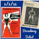 Damn Yankees 1955 Original Broadway Cast Starring Gwen Verdon - 454 x 454