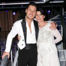 Val Chmerkovskiy and Nancy McKeon