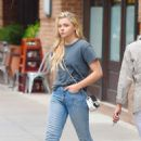 Chloe Moretz in Jeans out in NYC