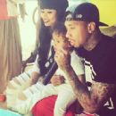 Blac Chyna and Tyga Celebrate King Cairo's 2nd Birthday in Calabasas - October 16, 2014 - 454 x 444