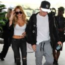 Bella Thorne Arrives at Los Angeles International Airport 07/29/2015