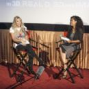 Actress Ashley Benson speaks on stage at BeautyCon and Ashley Benson Host A Special Screening of PIXELS on July 12, 2015 in Los Angeles, California