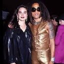 Lenny Kravitz and Jennifer Connelly At The 1991 MTV Video Music Awards - 223 x 340