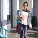 Alessandra Ambrosio – Leaves her yoga class in Brentwood - 454 x 644