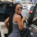 Kelly Rowland – Leaving the gym in Los Angeles