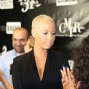 Amber Rose and Emily B at Miss Diddy's Toast to Young Hollywood Black Tie Affair at the Sofitel Hotel Los Angeles at Beverly Hills in Los Angeles, California - June 26, 2014 - 454 x 681