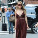 Rebecca Rittenhouse – Arrives at AOL Build in New York - 454 x 680