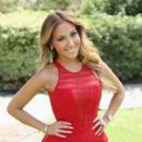 Adrienne Bailon arrives at the NBCUniversal summer press day held at The Langham Huntington Hotel and Spa on April 18, 2012 in Pasadena