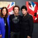 "Musician Ozzy Osbourne, Musician/artist Billy Morrison and musician Gary Numan attend an VIP Opening Reception For ""Dis-Ease"" An Evening Of Fine Art With Billy Morrison at Mouche Gallery on September 2, 2015 in Beverly Hills, California."