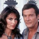 Roger Moore and Maud Adams - 236 x 370