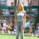 Heidi Klum Photoshoot Candids In New York