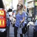 Ashley Greene spotted getting her manicure on at a salon in Beverly Hills, California on April 22, 2017 - 419 x 600