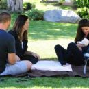 Selena Gomez was spotted hanging out with her new little sister this past week - 454 x 337