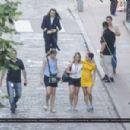 Emma Watson Colonia Dignidad Set Pics At San Telmo In Argentina