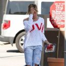 Ashley Tisdale: shopping in Toluca Lake