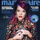 Lily Allen - Marie Claire Magazine Cover [Mexico] (November 2014)