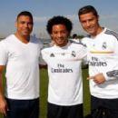 Ronaldo&Marcelo&Cristiano Ronaldo in 2013