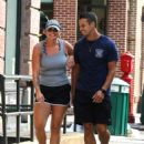 Miranda Lambert in Shorts – Out for a stroll in NYC - 454 x 628