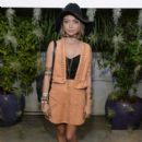 Sarah Hyland attends the H&M Loves Coachella Tent at the 2015 Coachella Valley Music & Arts Festival (Weekend 1) at the Empire Polo Club on April 10, 2015 in Indio, California